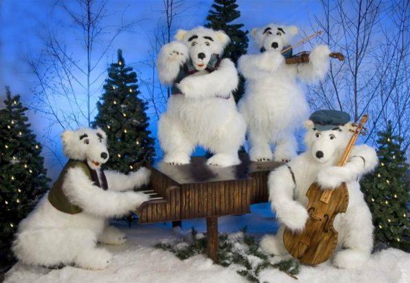 Polar Bear Band (4 figures).