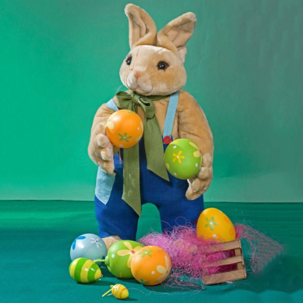 Easter Bunny with Easter eggs.