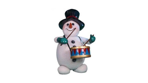 Snowman w/drum