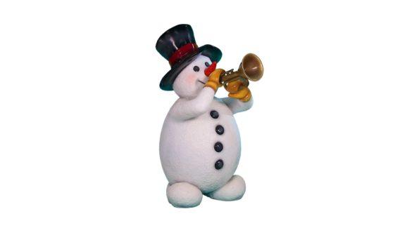 Snowman w/Trompet
