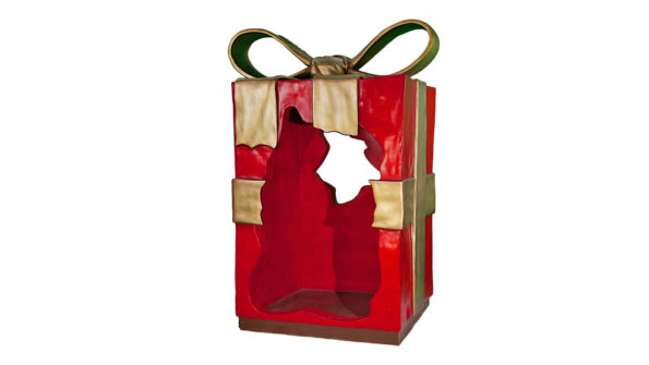 Christmas Parcels w/red