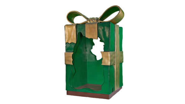 Christmas  Parcels w/green