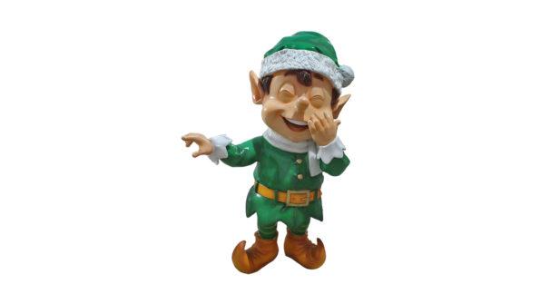 Santas elf pointing