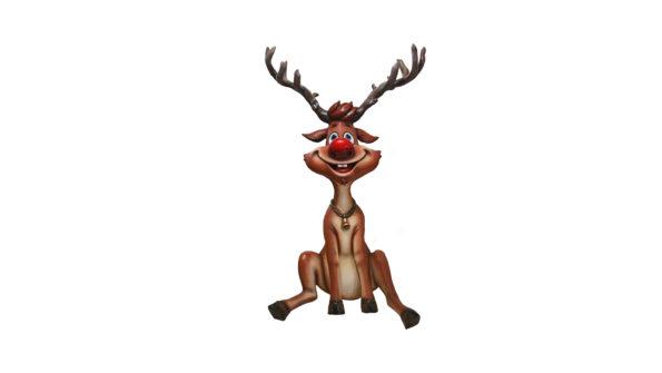 Reindeer  sitting