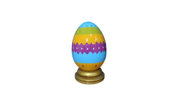 Easter egg 60cm w/base