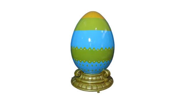 Easter egg 120cm w/base