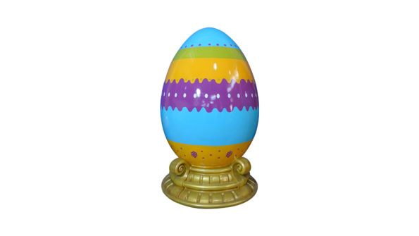 Easter egg 120cm w/base