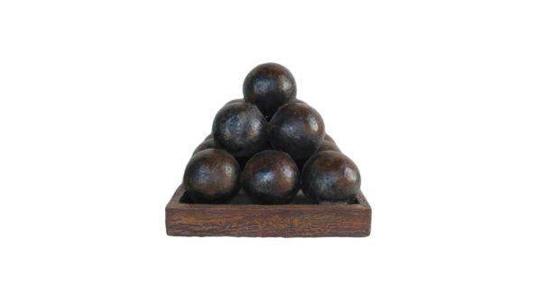 Canonball pyramid
